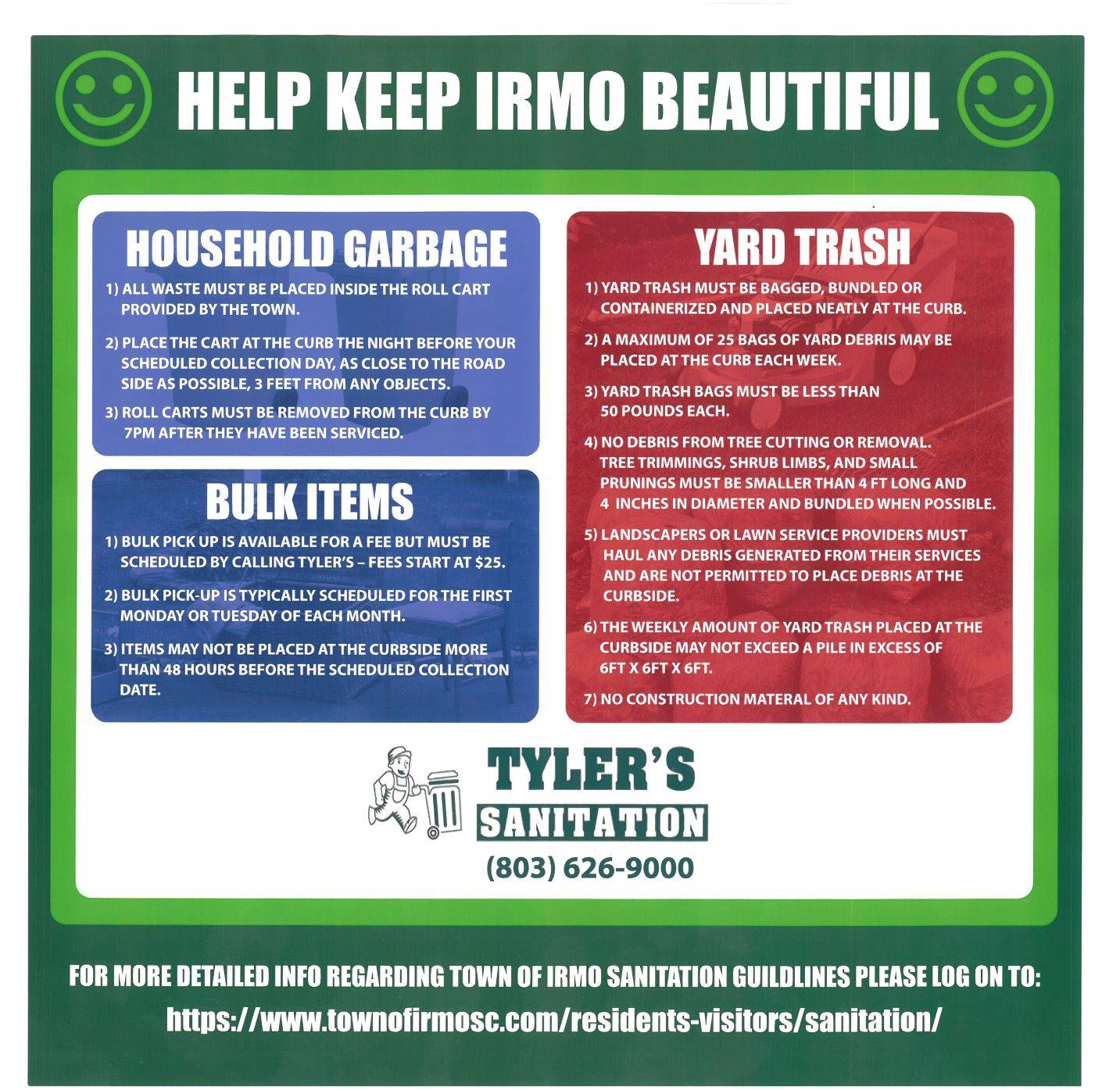Keep Irmo Beautiful - Litter Trashes Everyone @ Irmo, South Carolina