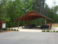 Picnic Shelter 2 - Front View