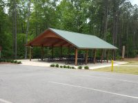 Picnic Shelter 2 - Front _ Side Vies