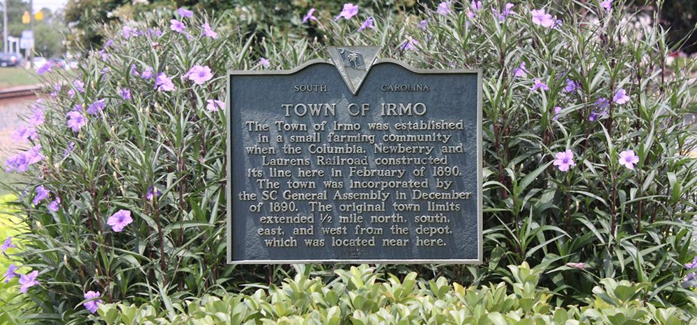 Irmo Town History | Town of Irmo SC